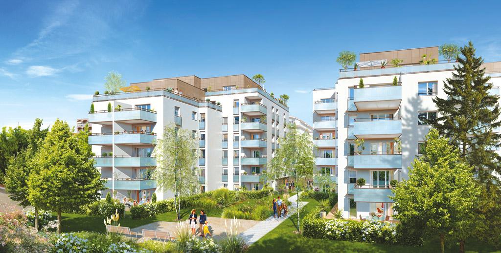programme neuf Villeurbanne l'Agora Utei