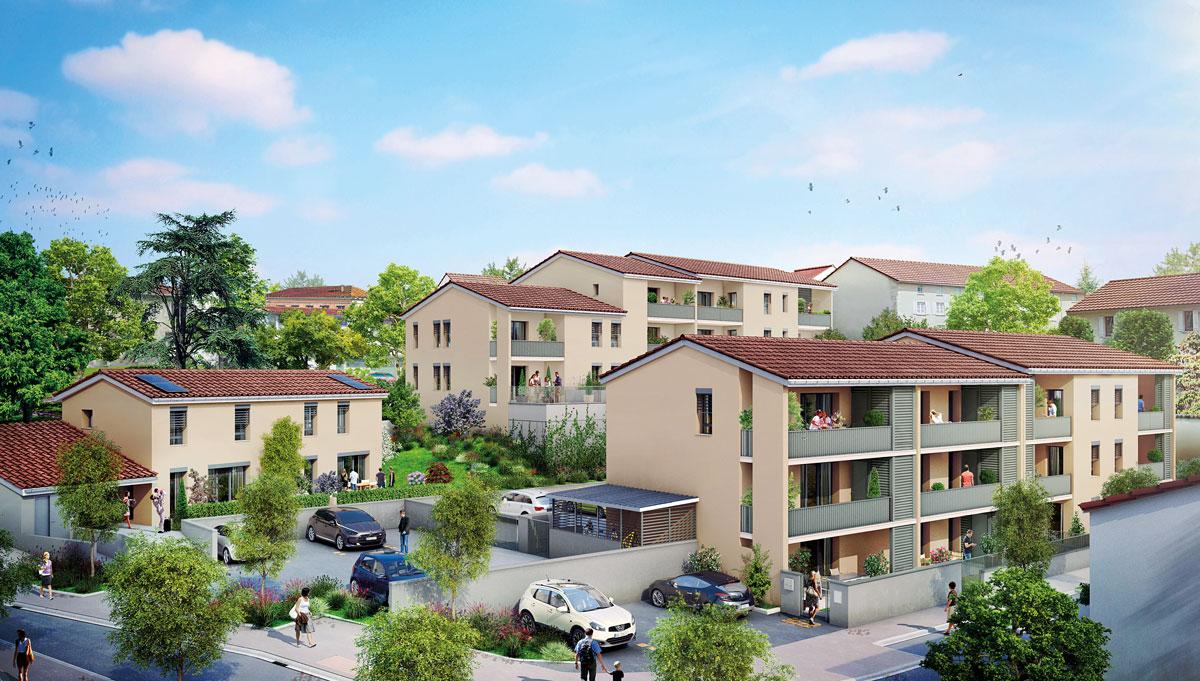Programme neuf mornant les amphit ales programme for Programme immobilier