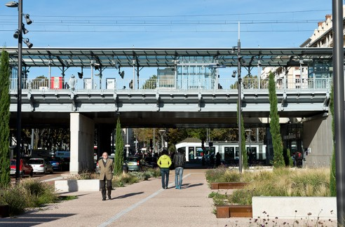 La halte ferroviaire Jean-Macé