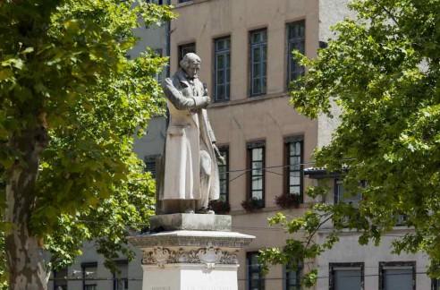 Statue de Jacquard