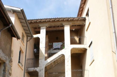 L'escalier « à la lyonnaise » de Saint Symphorien d'Ozon