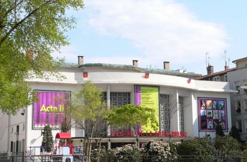 Théatre de la Croix-Rousse, place Joannès-Ambre