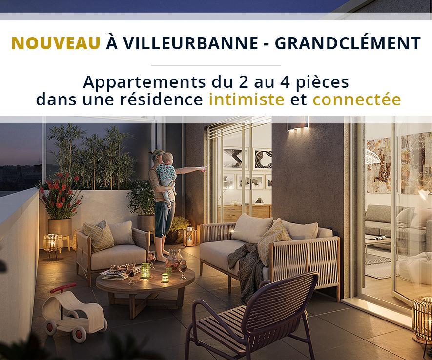 Nouveau à Villeurbanne – Résidence Villa Clémence
